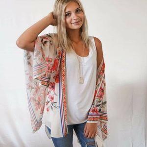 Gorgeous Floral Kimono